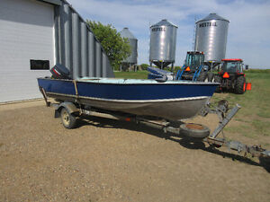16ft Lund boat with 25hp motor