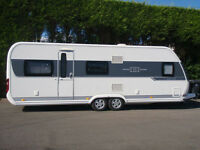 2014 HOBBY 645 VIP,5 BERTH,FIXED BED,WITH LEATHER UPHOLESTRY