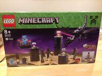 Lego minecraft The Ender Dragon 21117 BNIB