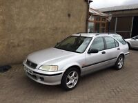 HONDA CIVIC LS AUTOMATIC (99) 1 YEAR MOT, 75000 MILES, EXCELLENT CONDITION £595