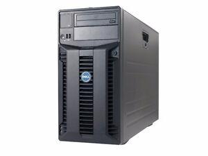 Dell Power edge T410 Desktop Computer 8 GB Ram 250 GB HDD Win 7