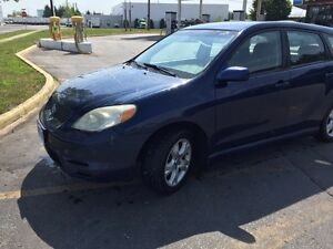 2003 Toyota Matrix XR Hatchback