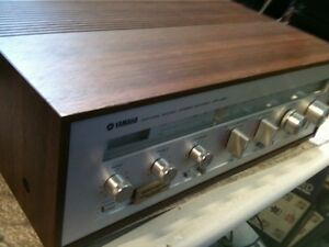 VINTAGE YAMAHA RECEIVER & SPEAKERS With a DUAL Turntable London Ontario image 1