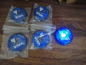 Lot of 5 light up blinking cycling reflectors Brand New London Ontario image 1