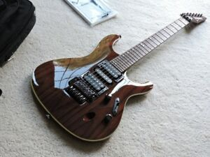 Ibanez S970WRW-NT Premium guitar for sale - Excellent !!