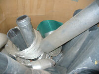 Ducting pipes available, many new straight from the store,  AB