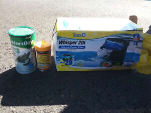 Reptile/amphibian and fish supplies