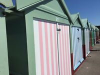 Beach Hut Hove beach