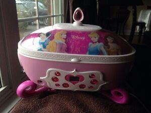 Disney Princess Cd/Jewelry box