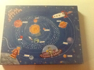 Kids wall hanging. Solar system