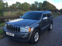 Jeep Grand Cherokee 3.0 CRD Automatic Diesel Estate 4WD
