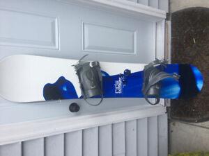 Ride Snowboard and bindings 150 cm
