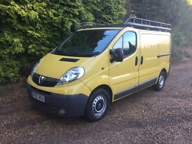 Vauxhall Vivaro 2.5cdti 140bhp top of its range