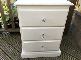 Bedside cabinet shabby chic