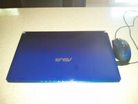 """Asus rapide 15.6"""" Notebook 2.20 GHz - Blue Intel i5 !"""