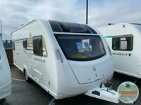 Swift Sprite Major 4 2015 Touring Caravan - Fixed Double Bed - 4 Berth - Finance