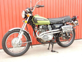HONDA CL360 1974 357cc MOT'd DECEMBER 2018