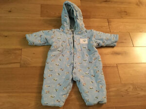 Winter snowsuit for baby 6mo