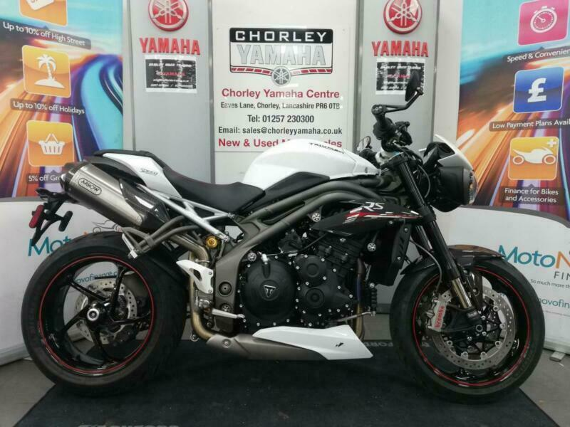 TRIUMPH SPEED TRIPLE 1050 RS 18 PLATE 1 OWNER 2551 MILES | in Chorley,  Lancashire | Gumtree