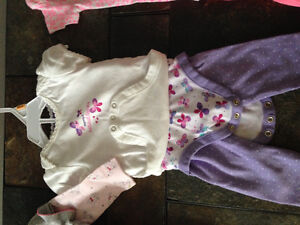 Baby girl clothes from 3-6 and 6-9