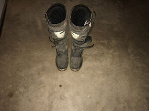 Almost new motocross boots size 11