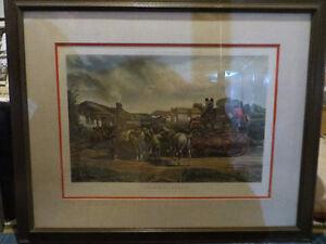 Charles Cooper Henderson (1803-1877) - Changing Horses Oakville / Halton Region Toronto (GTA) image 1