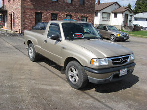 2001 Mazda B-Series Pickups Pickup Truck
