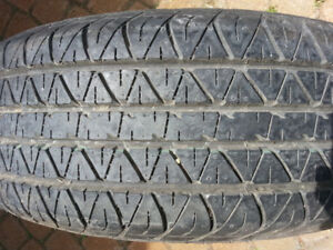 NEW P205/65R15 Dunlop ST SPORT 4000 A/S Tire on steel rim
