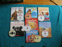 Primary Bear Theme Books with CDs