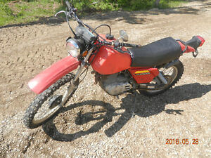 1980 Honda XL500S- ready to ride dual sport