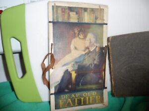 Antique Book, Dear Old Father, 1910