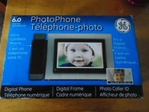 NEW PHOTO PHONE GE PORTABLE TELEPHONE WITH PICTURE ID