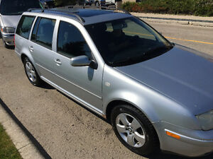 03 VW Jetta Wagon GLS with only 164,000 kms