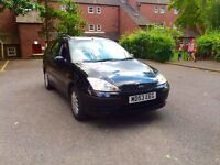 2004 Ford Focus 1.6 estate. 12 Months Mot. 1 previous owner