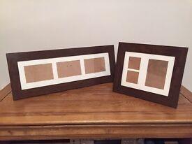 Two Dakota picture frames