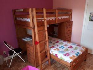 Set de chambre pour enfant (deux lits)