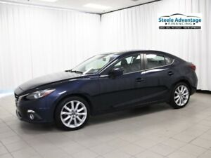 2015 Mazda MAZDA3 GT - Sunroof, Leather, Alloys and much more!