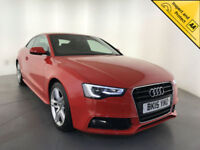 2015 AUDI A5 S LINE DIESEL COUPE 1 OWNER FROM NEW HEATED SEATS LEATHER INTERIOR