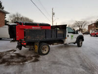 Snow Removal Sanding Salting