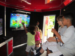 BIRTHDAY PARTY IN A MOBILE VIDEO GAME TRAILER Windsor Region Ontario image 2