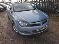 Vauxhall Astra 1.6 2007.5MY Twin Top Sport Remote Roof