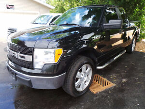 2010 FORD F-150 XLT, SUPERCAB, 4.6L V8, TOW PACKAGE