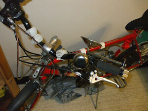 """49cc bike ready to go and """"Giant"""" frame ready to support motor Stratford Kitchener Area image 2"""