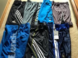 7 pair name brand shorts  sz med or 10/12