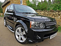 2009 RANGE ROVER SPORT 5.0 SUPERCHARGED V8 HSE 4X4