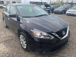 2016 NISSAN SENTRA BLACK AUTOMATIC 74300 KMS EXTRA CLEAN  $11900