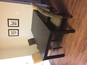 Attica Dining room table and chairs