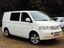 2009 VW Transporter 1.9TDi PD ( 102PS ) SWB T28 White Combi Window Van SUPERB!!!
