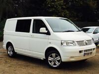 2009 VW Transporter 1.9TDi PD ( 102PS ) SWB T28 White Combi Window Van SUPERB!!!