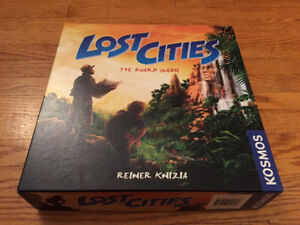 Lost Cities Board Game by Reiner Knizia